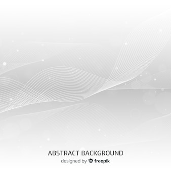 Modern background with abstract wavy shapes