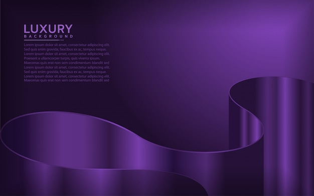Modern background with dynamic shape