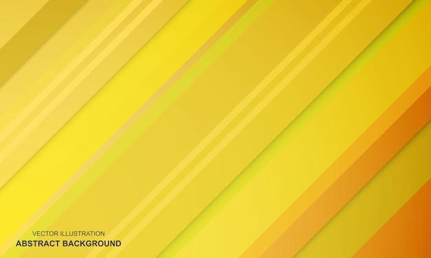 モダンな背景の黄色のデザイン