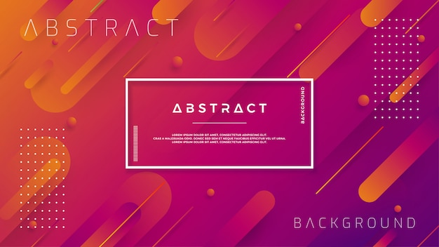 Modern backgrounds with trendy color gradation compositions.