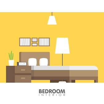 Modern badroom interior design icon. vector illustration