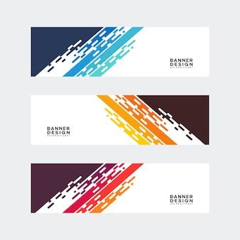 Modern banner designs template vector