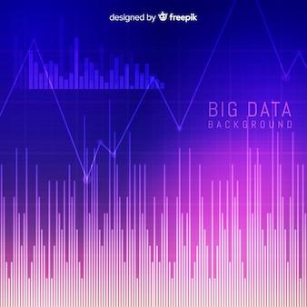 Modern big data background concept