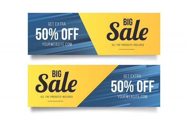 Modern big sale banner