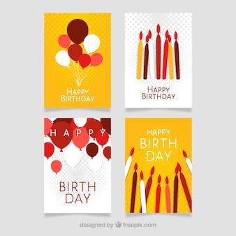 Современные дизайн поздравительных открыток
