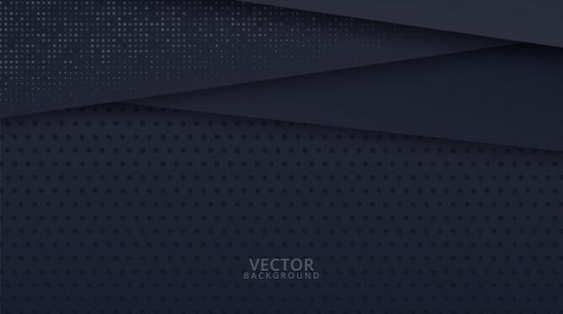Современный черный абстрактный дизайн геометрический фон