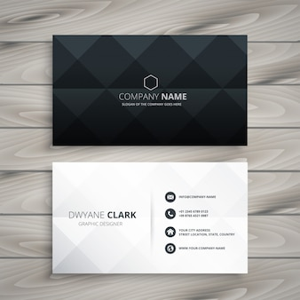 Business cards vectors photos and psd files free download modern black and white business card design colourmoves