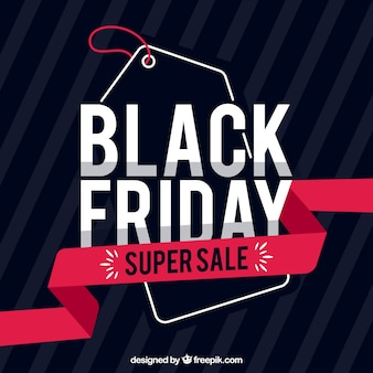 Modern black friday design