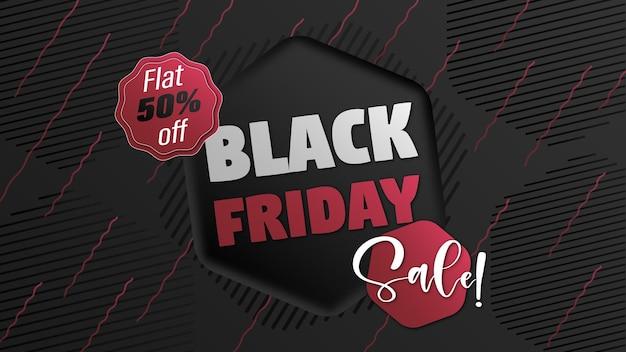 Modern black friday sale offer