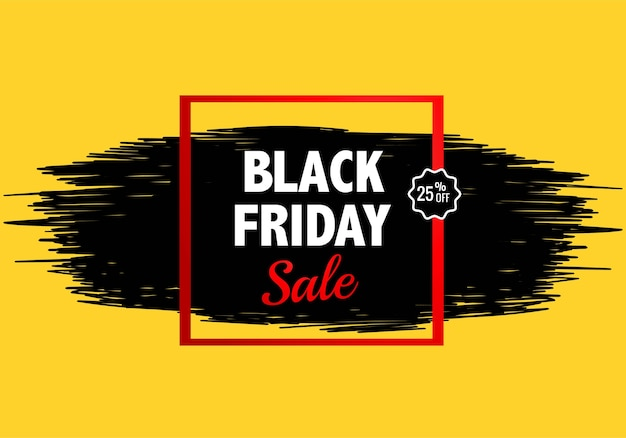 Modern black friday sale for splash