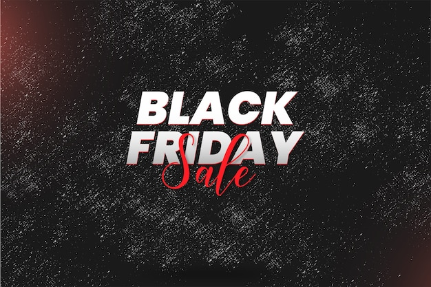 Modern black friday sale with abstract grunge texture