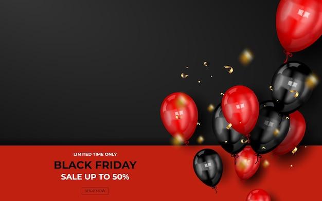 Modern black friday super sale banner