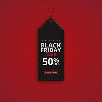 현대 검은 금요일 슈퍼 판매 배너