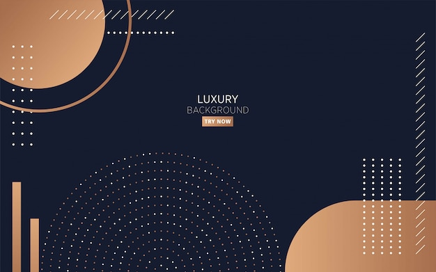 Modern black minimalist luxury background