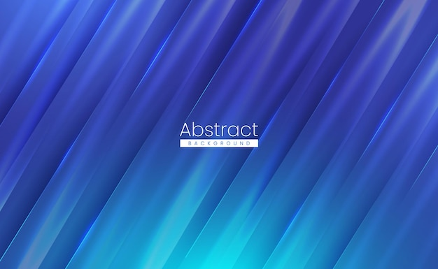 Modern blue abstract background with soft textured shiny surface