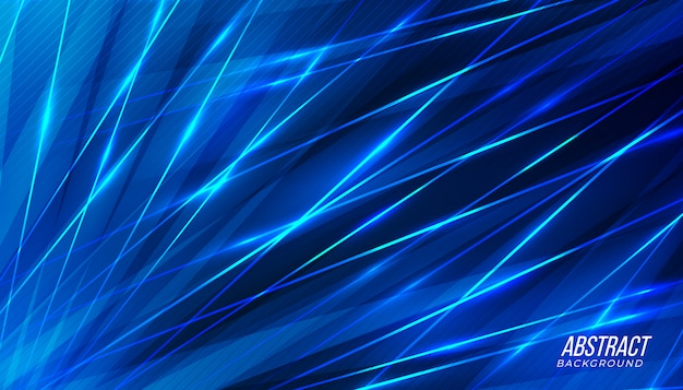 Modern blue abstract background.