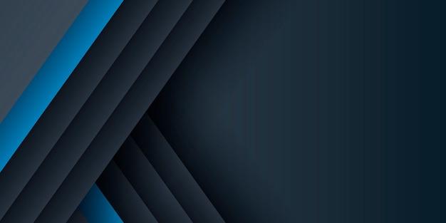 モダンな青い抽象的な背景