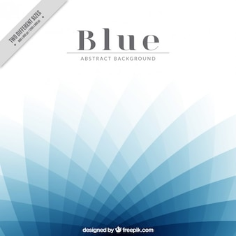 Modern blue abstract background
