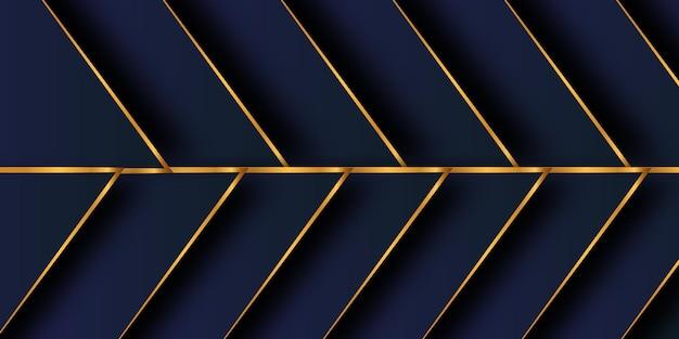モダンな青い抽象的なデザインの幾何学的な背景