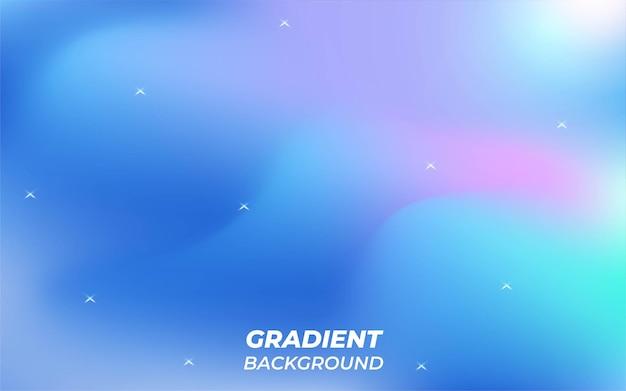 Современный синий абстрактный градиентный фон