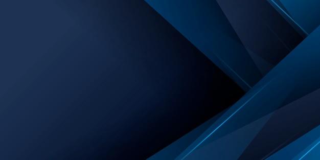 影とモダンな青い抽象的なプレゼンテーションの背景