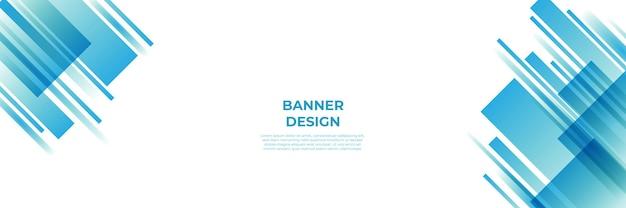モダンな青いバナーの背景。ベクトル抽象的なグラフィックデザインバナーパターン背景テンプレート。