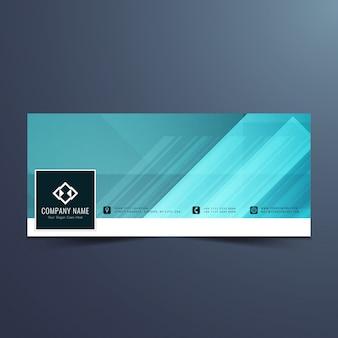 Moderno design banner di stile Vettore gratuito