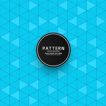 现代蓝色几何图案背景
