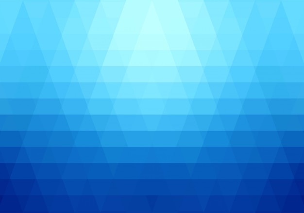 Modern blue geometric shapes background