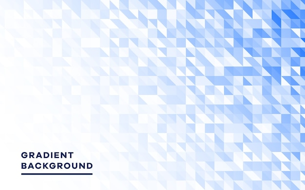 Modern blue geometric shapes background