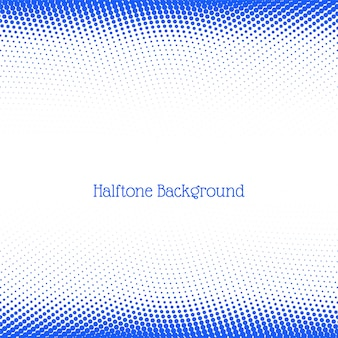 Modern blue halftone background