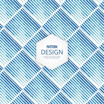 Modern blue pattern background
