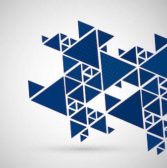 Modern blue polygonal background