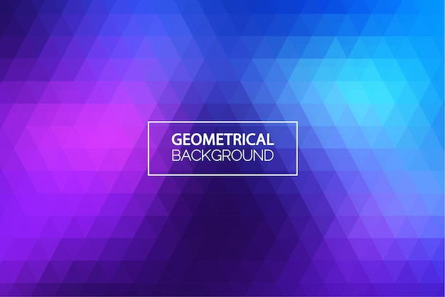 Modern blue purple geometrical background
