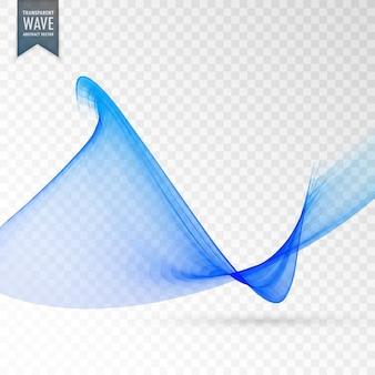 Soft smooth trasparente sfondo vettoriale onda