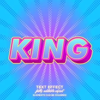 Modern bold pop art font effects