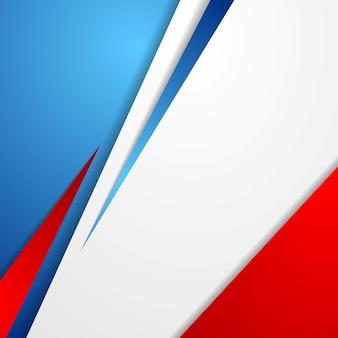Современный яркий абстрактный фон. французские цвета. векторный дизайн