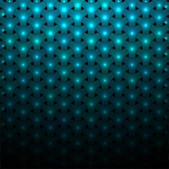 Modern bright blue shiny pattern background illustration