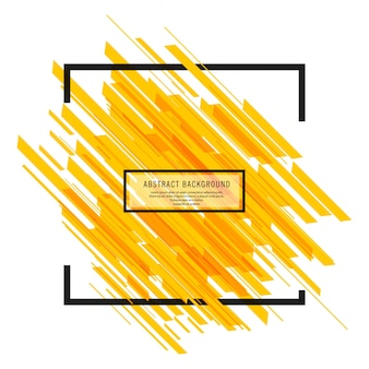 Modern bright yellow lines background vector