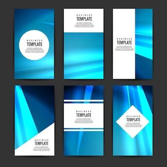 Raccolta brochure moderna
