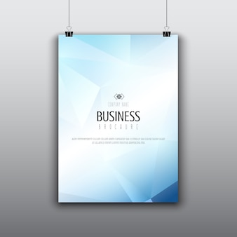 低ポリデザインの最新パンフレットデザイン