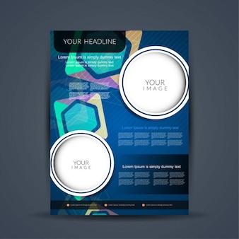 Современный дизайн брошюры