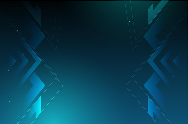 Современный бизнес фон с дизайном цифровых технологий