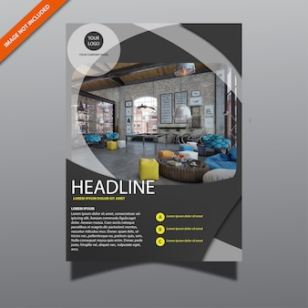 Modern business brochure 51