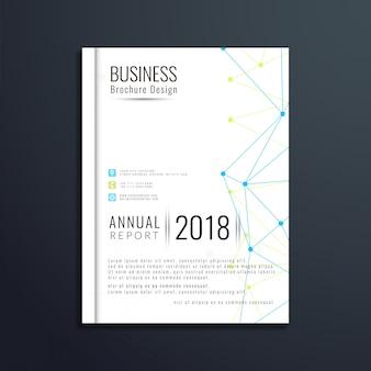 Modern business brochure template design