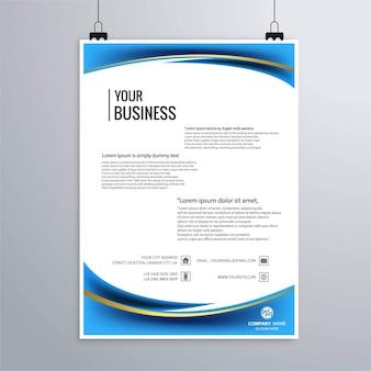 Современный шаблон бизнес-брошюры