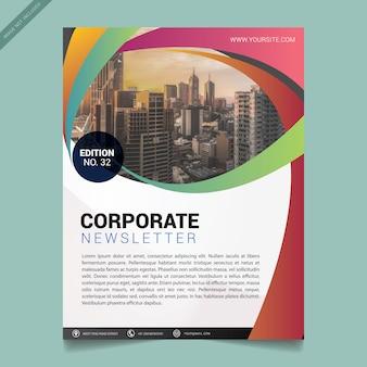 Шаблон современной бизнес-брошюры Premium векторы