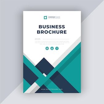 Modern business brochure template