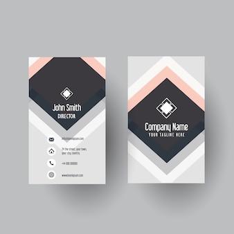 Современный дизайн визитной карточки