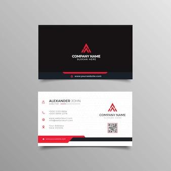 Современная визитка reed corporate professional